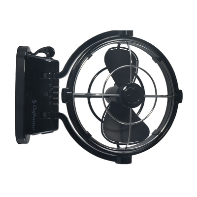 Caframo Model # 807 12V Sirocco 360° Cabin Fan (Black)