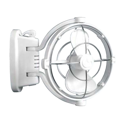 Caframo Model # 807 12V Sirocco 360° Cabin Fan (White)