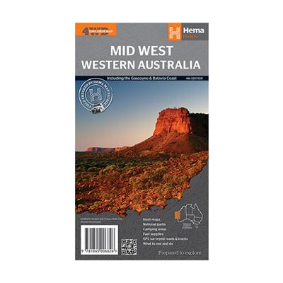 Western Australia Mid West: HEMA.2.025