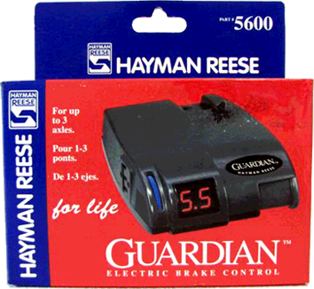 hayman reese electric brake controller instructions