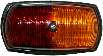 Hella 2029 Red/Amber Side Marker Lamp