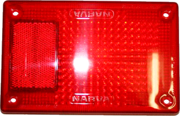 Narva Tail Light Lens (Red)