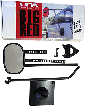 Ora Big Red Towing Mirror