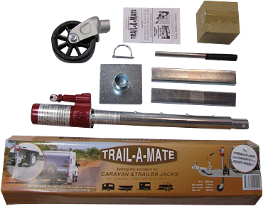 Trail-A-Mate Hydraulic Jockey Wheel