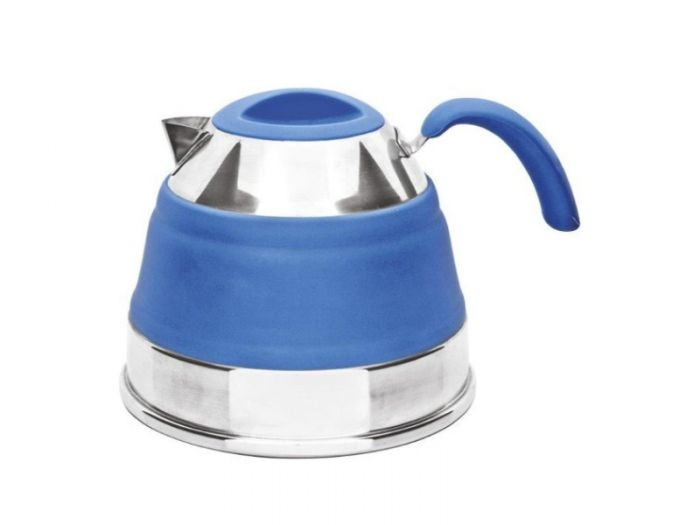2.5 LITRE POP-UP KETTLE - BLUE