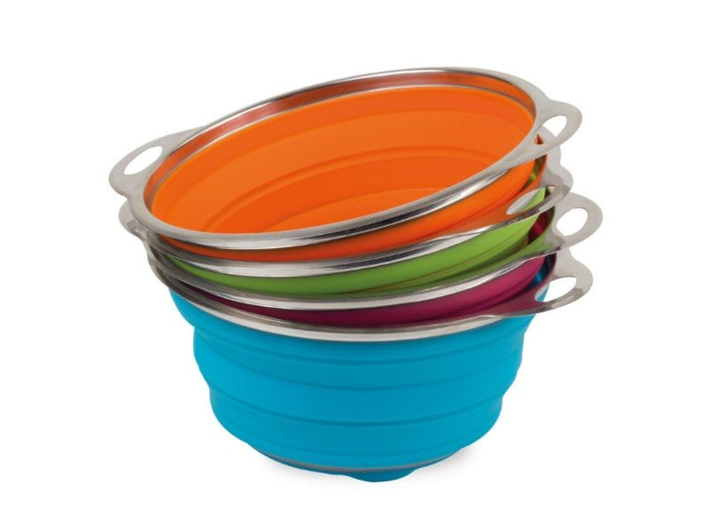 9.5 LITRE POP-UP COLANDER – ASSORTED COLOURS