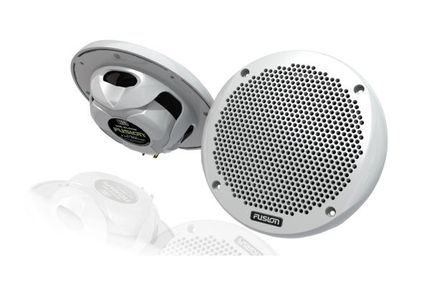 "Fusion 6"" Marine White Shallow 150 Watt 2-Way Speakers"