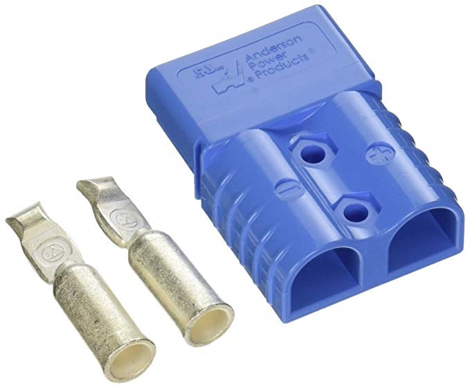 Blue 50 Amp Anderson Connector