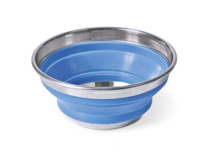 POP-UP STAINLESS STEEL/SILICONE 17CM BOWL