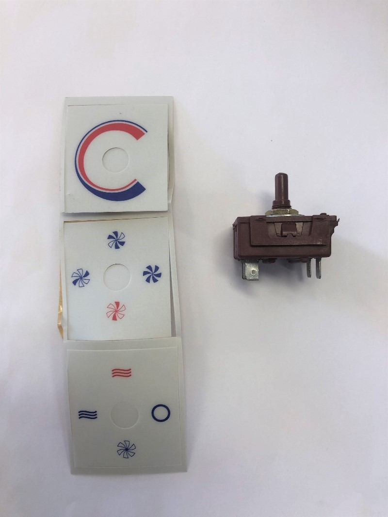 SELECTOR SWITCH TO SUIT HERON 2.2 AIR CONDITIONER