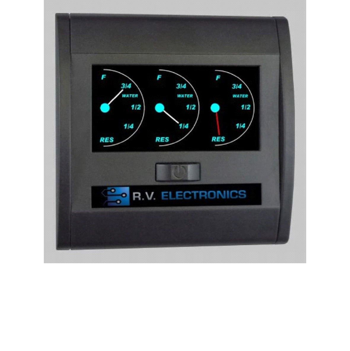 TRIPLE WATER TANK GAUGE LCD BACKLIT