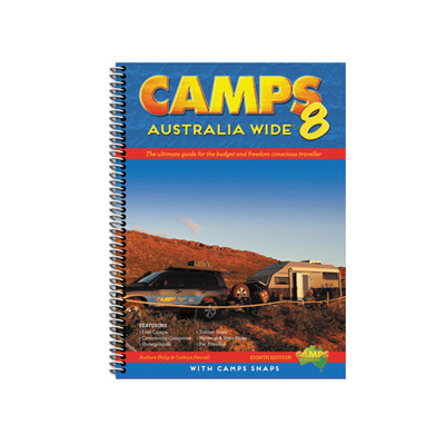 Camps Australia Wide 8 Spiral With Camps Snaps