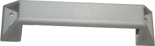 White Plastic Grab Handle