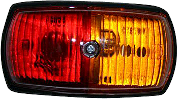 Narva Red/Amber Side Marker Lamp