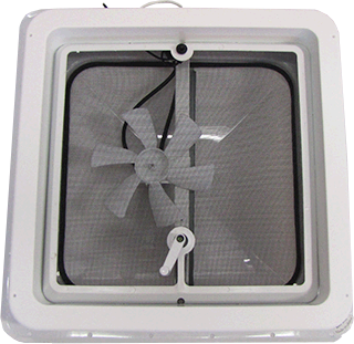 "14"" Jensen 12V Roof Vent With Fan"
