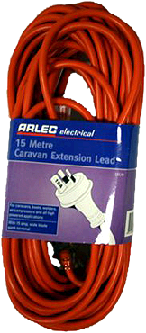 15Amp Arlec Caravan Extension Lead