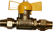 "5/16"" x 5/16"" BSP Flared Ball Valve"