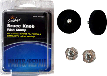 Carefree Brace Knob With Clamp