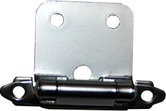 Mat Chrome Self Closing Hinge