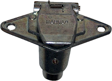 Narva Metal 6 Pin Socket